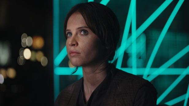 Rogue One: A Star Wars Story(Felicity Jones) Ph: Film Frame ©Lucasfilm LFL