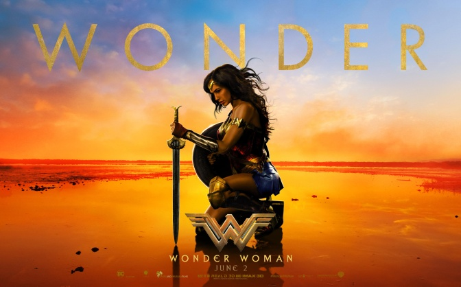 My Excitement for Wonder Woman