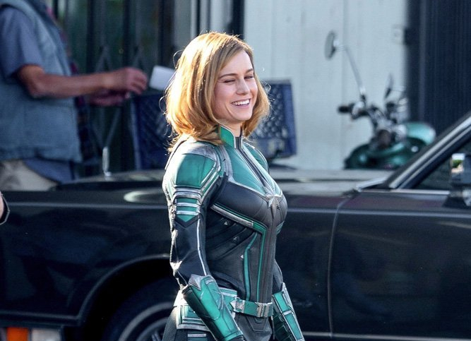 Here's a First Look at Brie Larson in 'Captain Marvel'