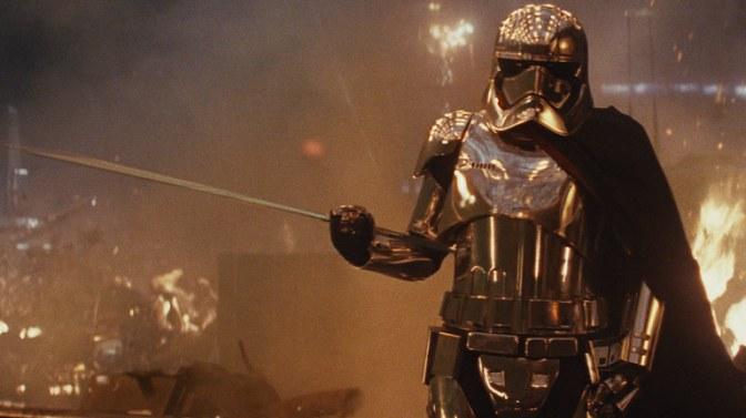 I'm Convinced That Captain Phasma Isn't Gone