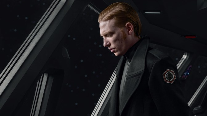 General Hux: The Reason Why He's Better in 'The Last Jedi' than 'The Force Awakens'