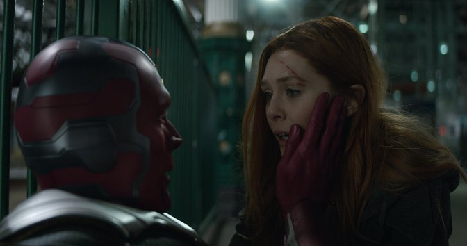 Scarlet Witch and Vision: An Odd Couple