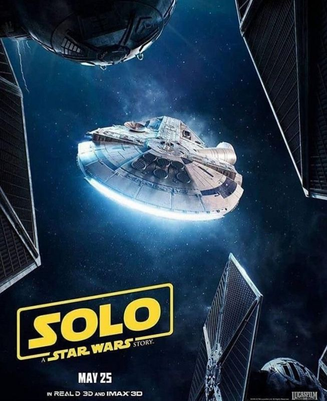 Which Is the Best Poster for 'Solo: A Star Wars Story'?