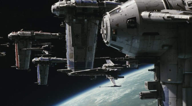 Throwback Friday: The Originality of a Space Battle in 'The Last Jedi'