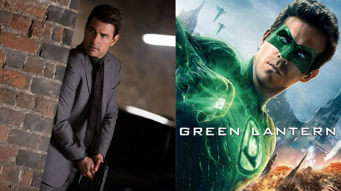 Um…Is Tom Cruise Going To Become Green Lantern?