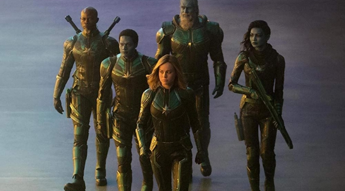 Oh My Gosh!!! The 'Captain Marvel' Trailer Is Here!