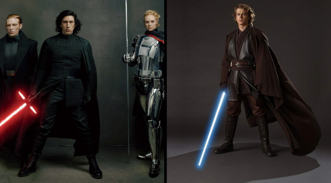 Kylo Ren and Anakin Skywalker Basically Have the Same Outfit