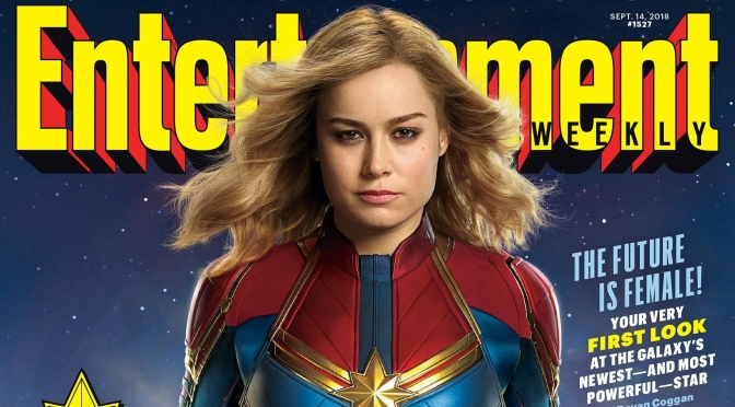 Our First Look At Captain Marvel Is Finally Here!