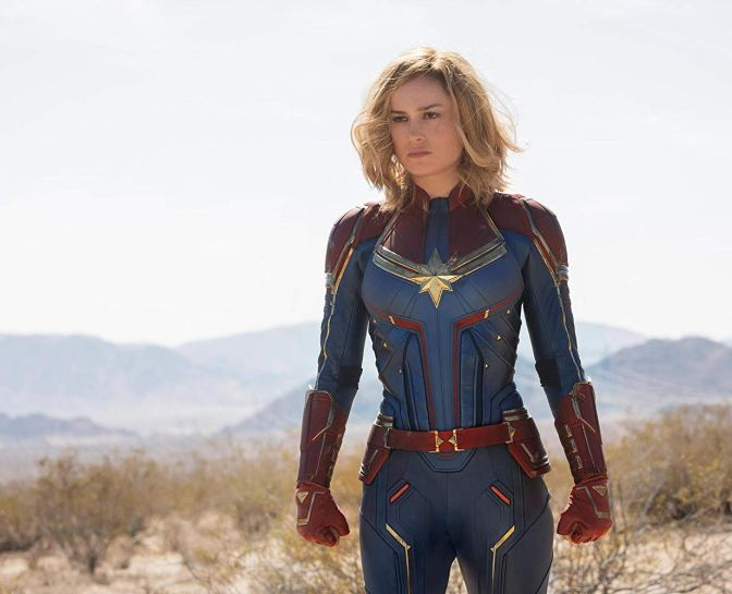 I Think The 'Captain Marvel' Trailer Is Coming Out Next Week!