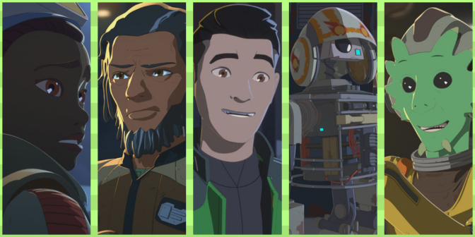 Ranking the 'Star Wars: Resistance' Characters; from Worst to Best