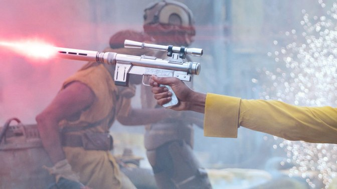 The Coolest Weapons in 'Solo: A Star Wars Story'