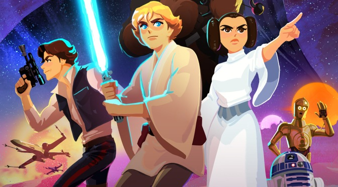 'Star Wars: Galaxy of Adventures' Is the Best Thing I've Seen All Day