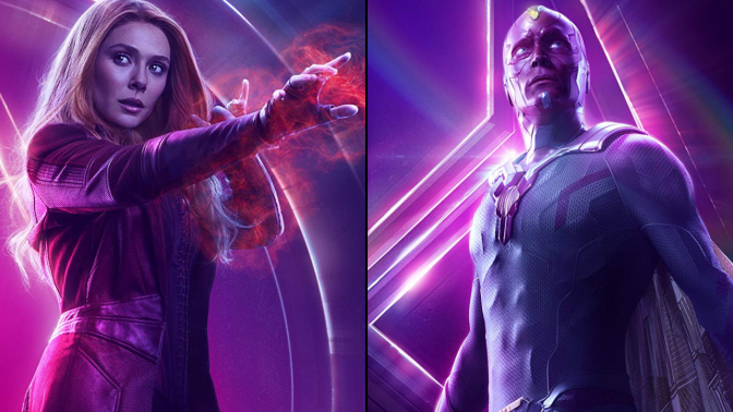 It's Official: Scarlet Witch and Vision Are Getting Their Own Series