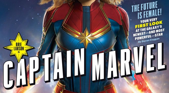 Throwback Saturday: Our First Look At Captain Marvel Is Finally Here!