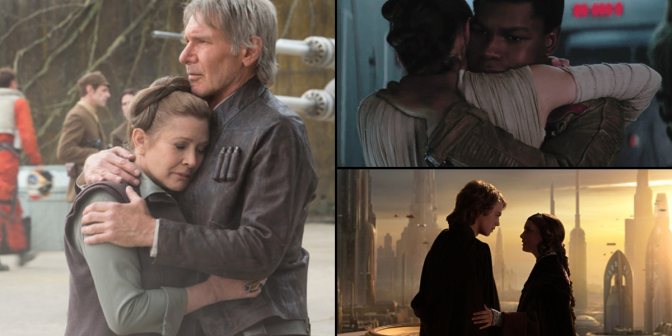 Ranking the Romantic Moments in 'Star Wars'; from Worst to Best
