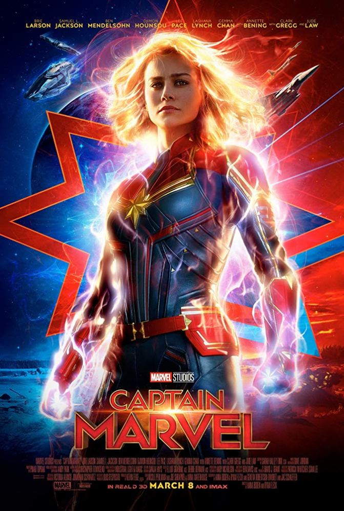 'Captain Marvel' Is Coming Out Tomorrow!!!