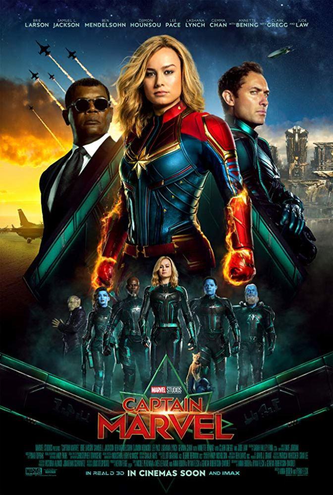 It's Only Six Days Left Until 'Captain Marvel'!
