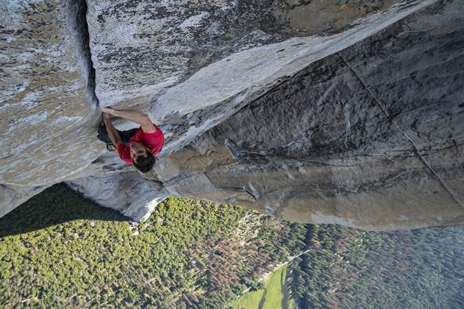 'Free Solo' Is a Riveting Display of Determination