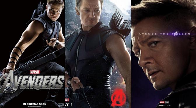 A Six-Year Poster Evolution: Hawkeye