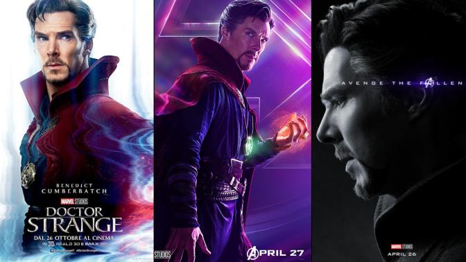 A Six-Year Poster Evolution: Doctor Strange