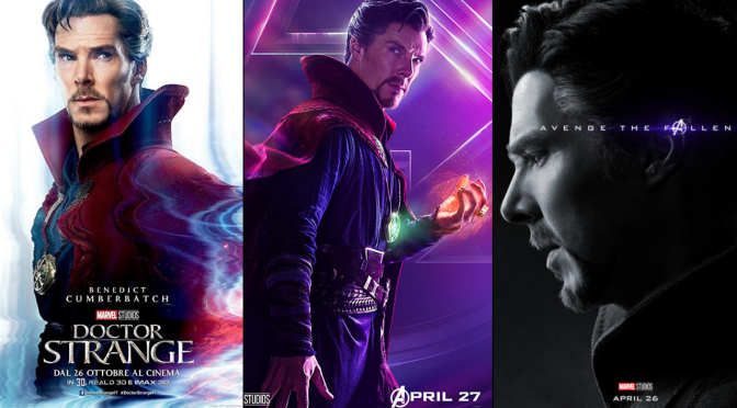 A Six-Year Poster Evolution: Doctor Strange