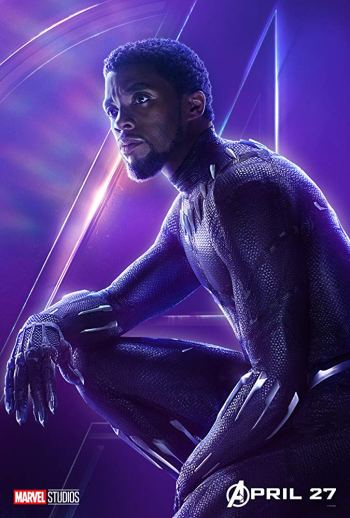 blackpantheravengersinfinitywarposter