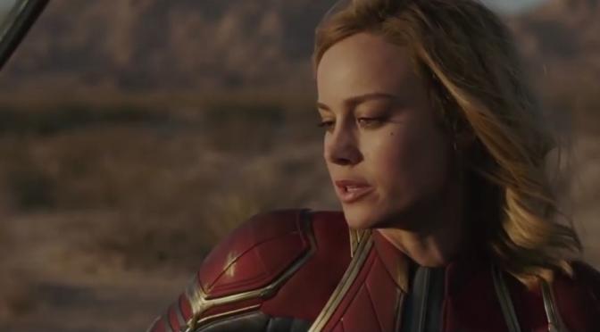 Gender-Swapped Captain Marvel