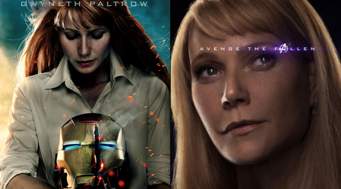 A Six-Year Poster Evolution: Pepper Potts