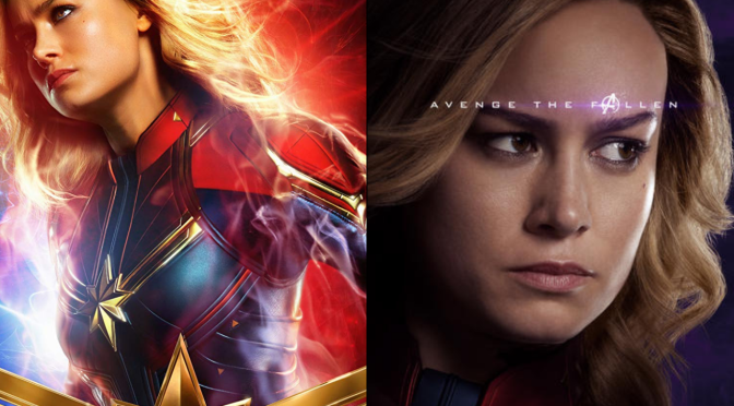 A Six-Year Poster Evolution: Captain Marvel