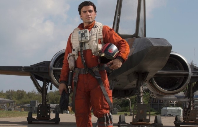 A Fanmade Character Poster for Poe Dameron