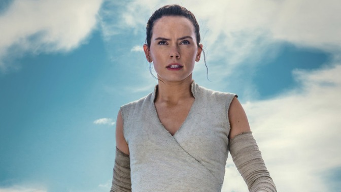 A Fanmade Character Poster for Rey