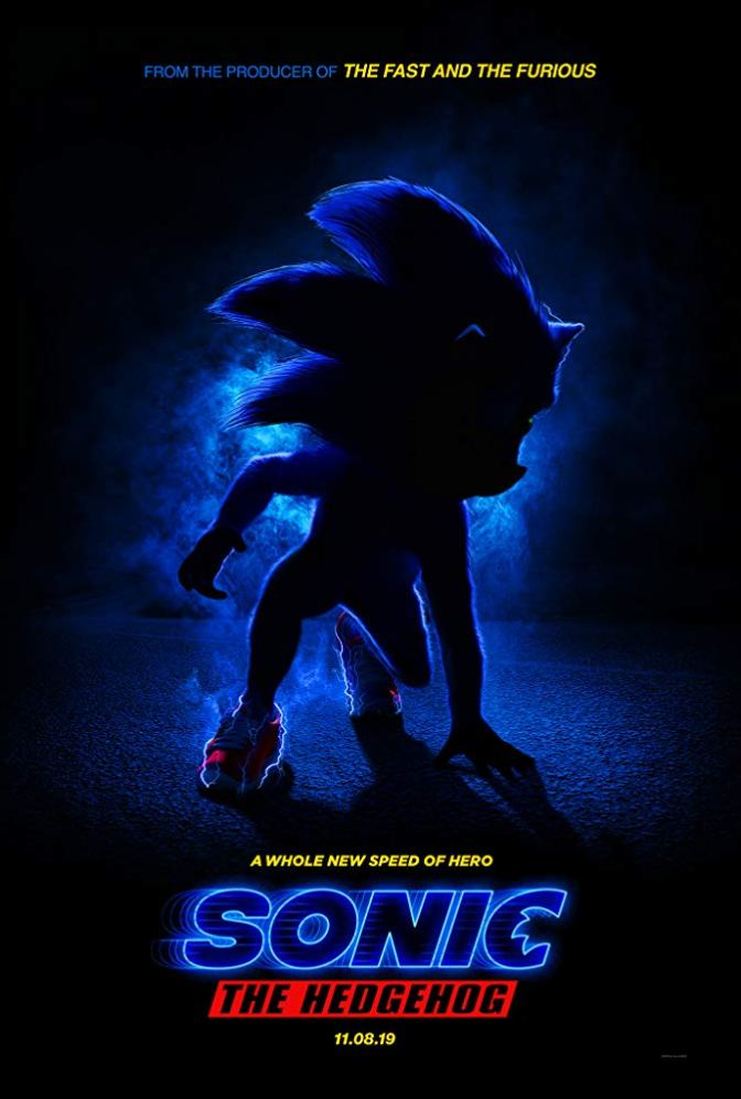 'Sonic The Hedgehog' Gets Its First Trailer