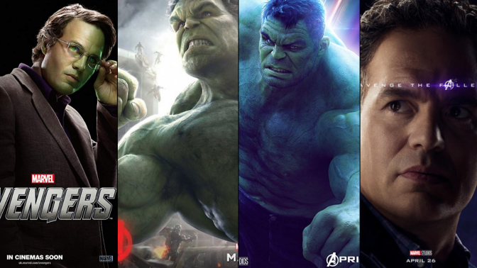 A Six-Year Poster Evolution: Bruce Banner/The Hulk