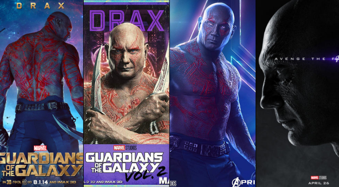 A Six-Year Poster Evolution: Drax