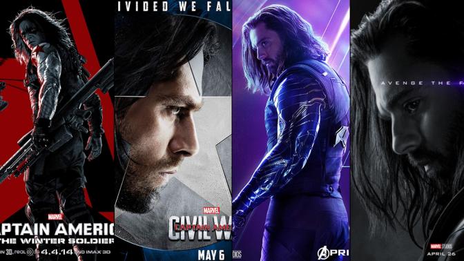 A Six-Year Poster Evolution: Bucky Barnes