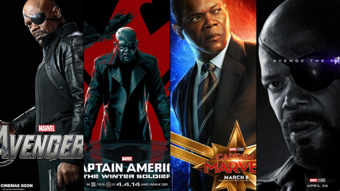 A Six-Year Poster Evolution: Nick Fury
