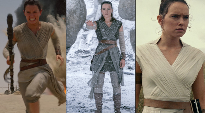 Rey's Evolution Through Her Clothing
