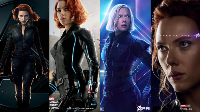 A Six-Year Poster Evolution: Black Widow