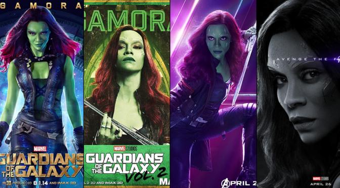 A Six-Year Poster Evolution: Gamora