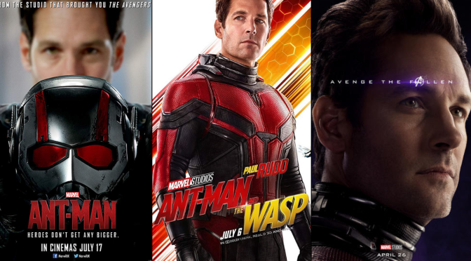 A Six-Year Poster Evolution: Ant-Man