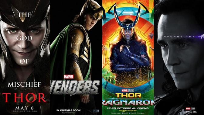 A Six-Year Poster Evolution: Loki