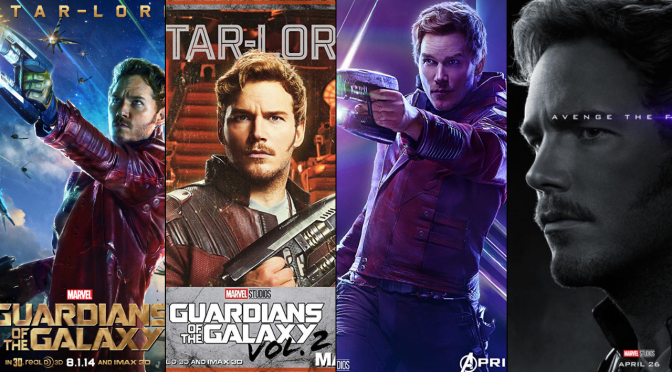 A Six-Year Poster Evolution: Star-Lord