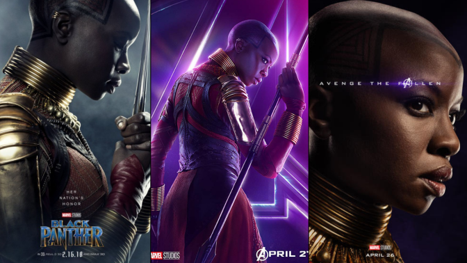 A Six-Year Poster Evolution: Okoye