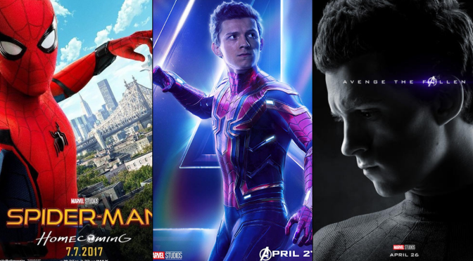 A Six-Year Poster Evolution: Spider-Man