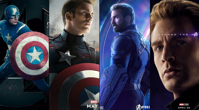 A Six-Year Poster Evolution: Captain America