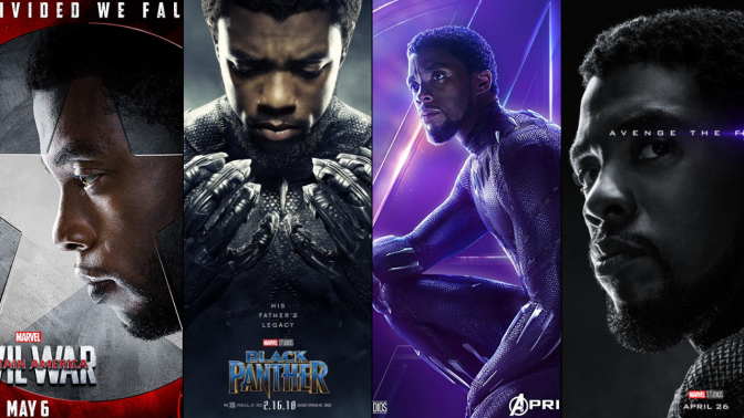 A Six-Year Poster Evolution: Black Panther