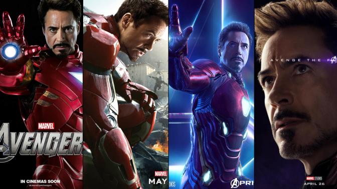 A Six-Year Poster Evolution: Iron Man