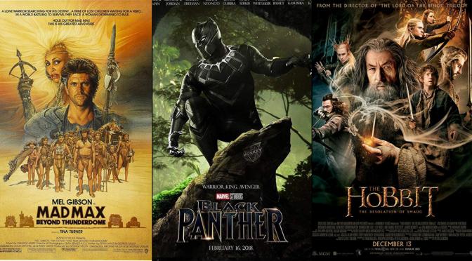 My Three Favorite Movie Credit Songs