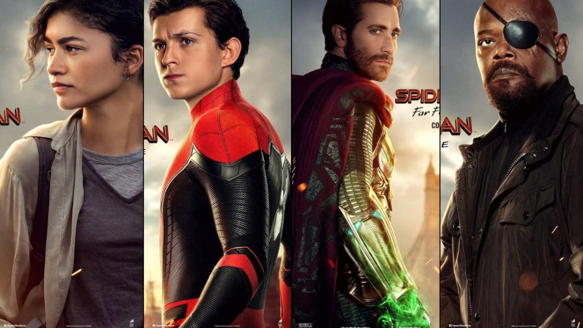 'Spider-Man: Far from Home' Gets Some New Posters