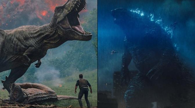 'Jurassic World: Fallen Kingdom' vs. 'Godzilla: King of the Monsters'